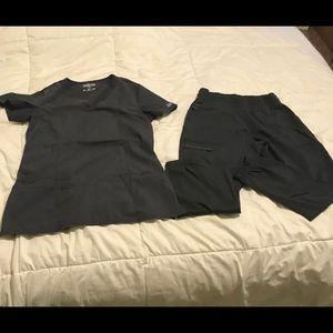 Cherokee workwear revolution scrub set sz small